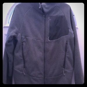 Jackets & Coats - Men's NorthFace Fleece Jacket, M, Gray